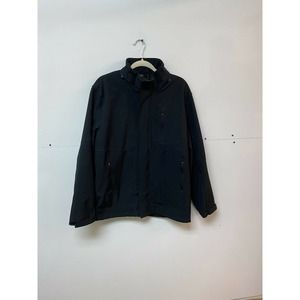 Hawke & Co. Black Zip Up Jacket Medium